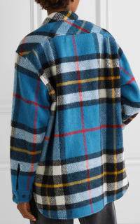WE11 DONE Checked wool jacket 3 Preview Images