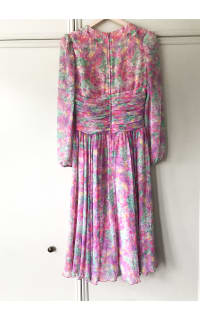 Vintage Floral dress 4 Preview Images
