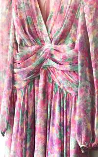 Vintage Floral dress 3 Preview Images