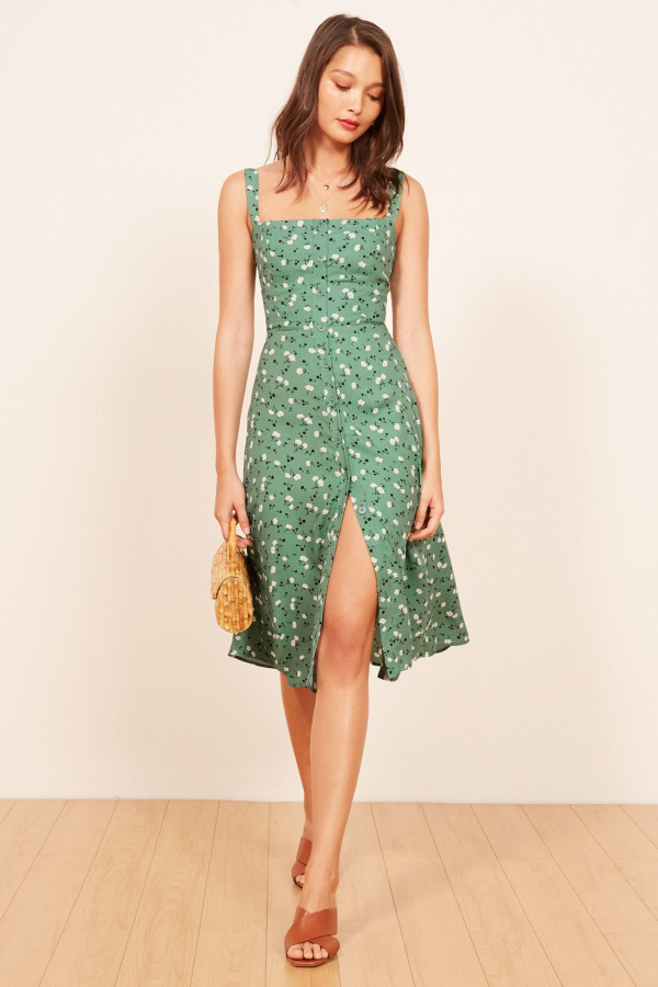 Reformation Persimmon Dress 3