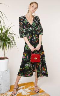 RIXO London Bonnie – English Floral Black 4 Preview Images