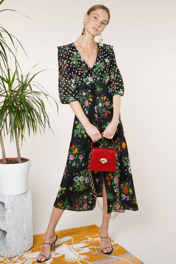 RIXO London Bonnie – English Floral Black 4