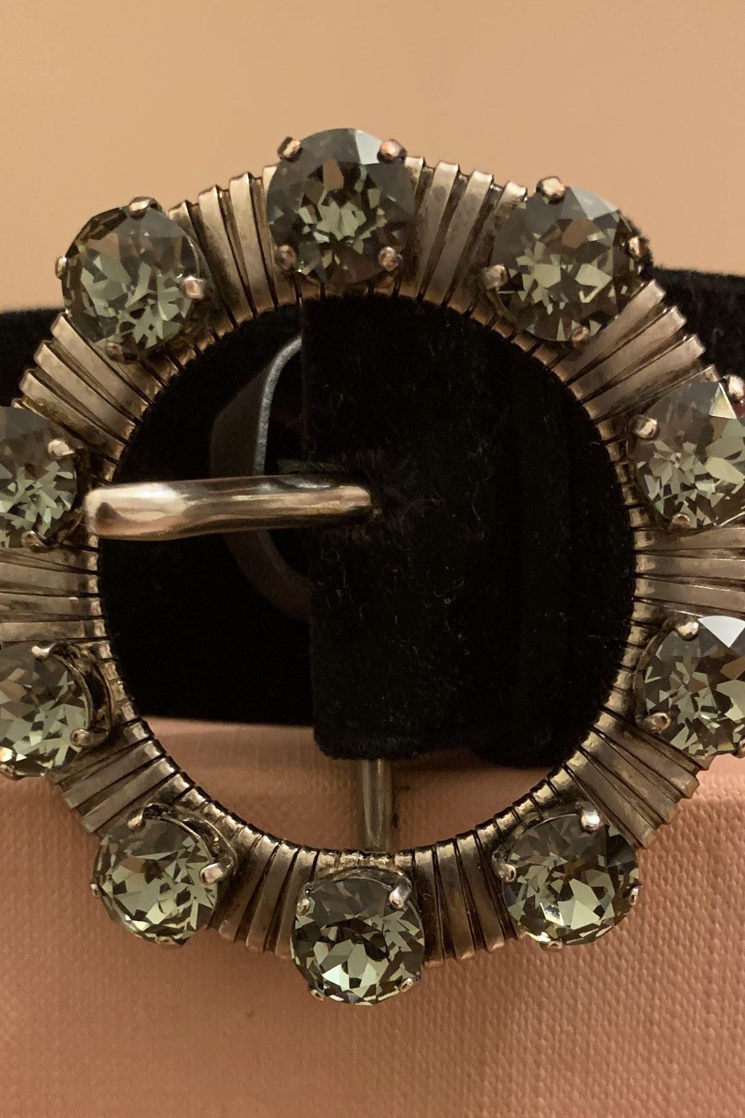 Miu Miu Crystal-embellished belt 2 Preview Images