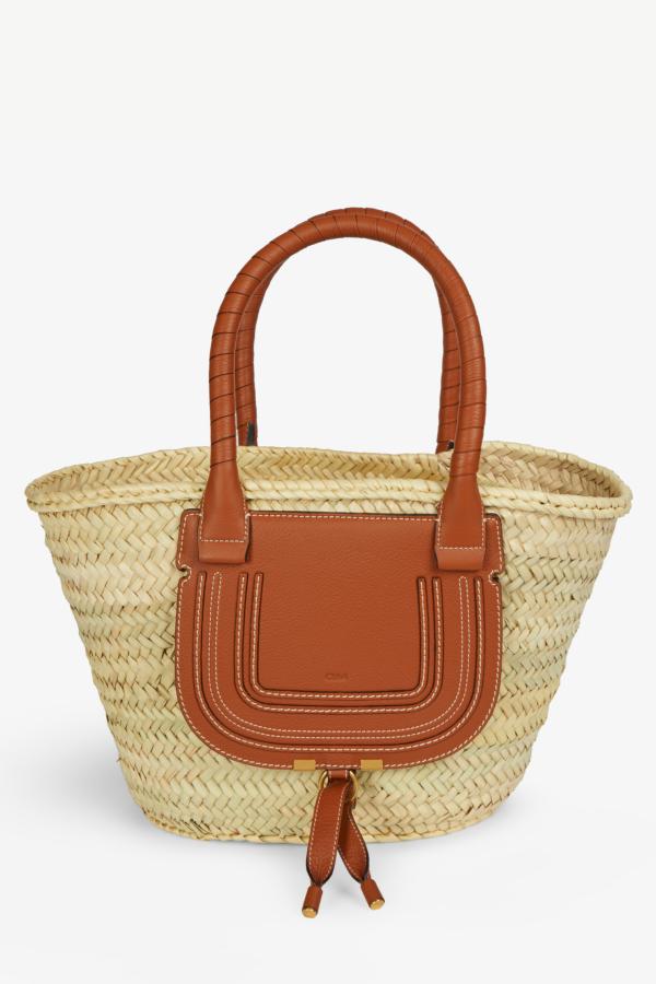 Chloé Marcie mini woven bag