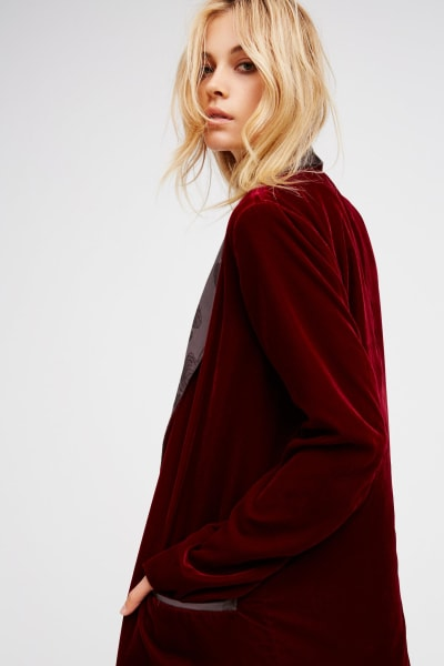 Free People Velvet Dreams Jacket 2