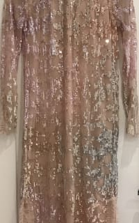 Needle & Thread SEQUIN-EMBELLISHED TULLE DRESS 2 Preview Images
