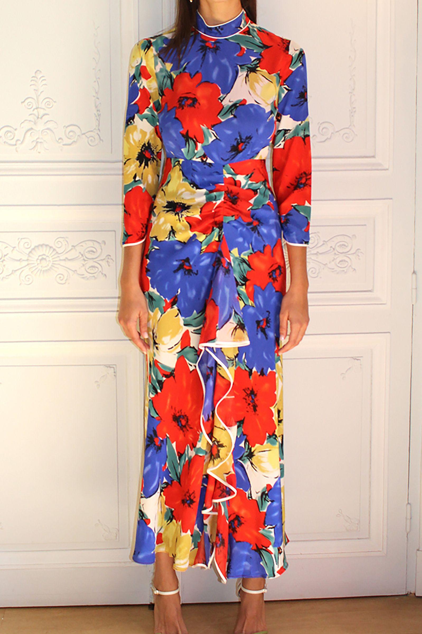 RIXO London Lucy open-back floral-print silk crepe de chine dress 3 Preview Images