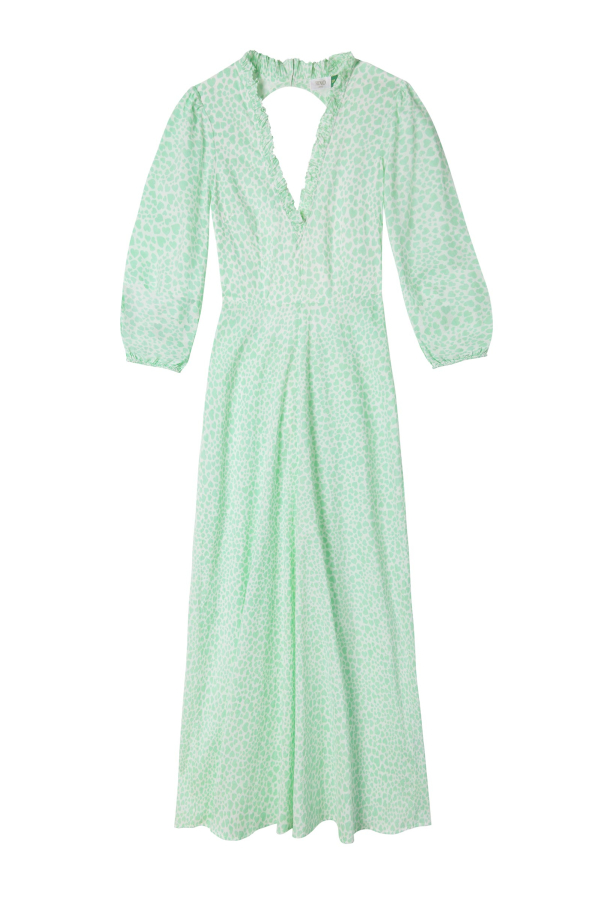 RIXO London The Rosemary (Mint Love Heart)