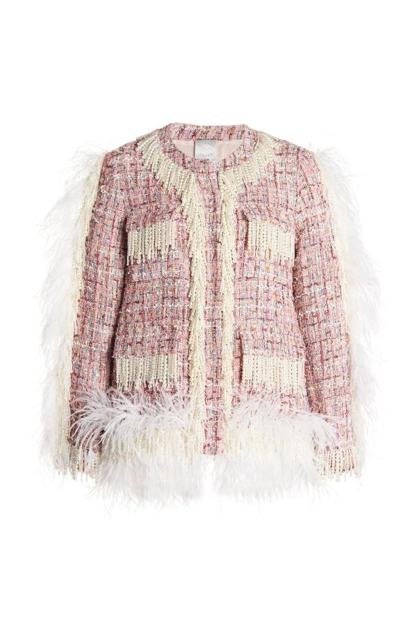 Huishan Zhang Cecil embellished jacket