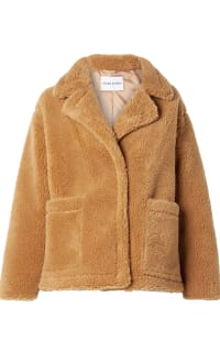 Stand Studio Marina faux shearling jacket Preview Images