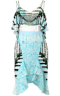Peter Pilotto Mini silk dress Preview Images