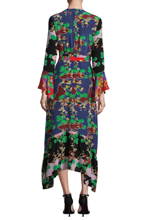RIXO London The Chrissy Multi-Print Dress 2