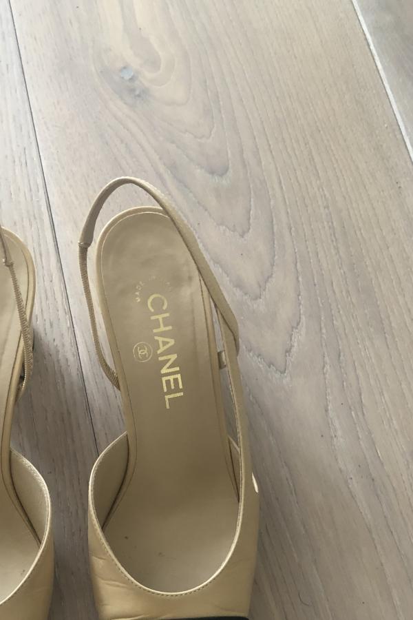 Chanel Slingback shoes 2