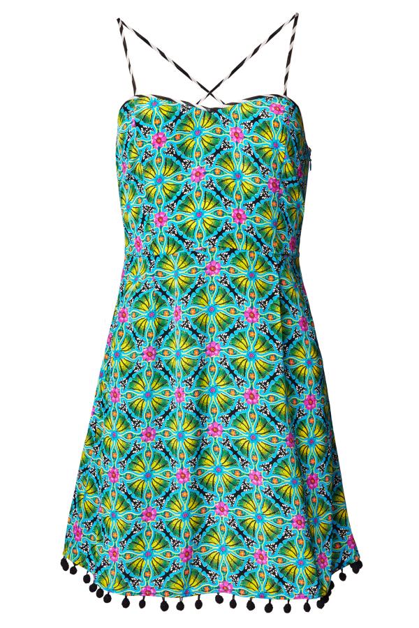 Matthew Williamson Venetia Print Sun Dress