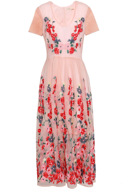 Maje Raphael Floral Dress Preview Images