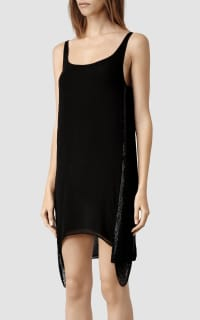 AllSaints Acalia Dress with Side Chain 4 Preview Images