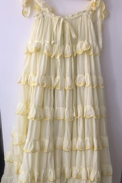 Innika Choo The scallop dress 4