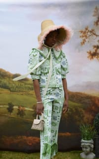 Olivia Annabelle Bennet Jacket in Garden Print 4 Preview Images