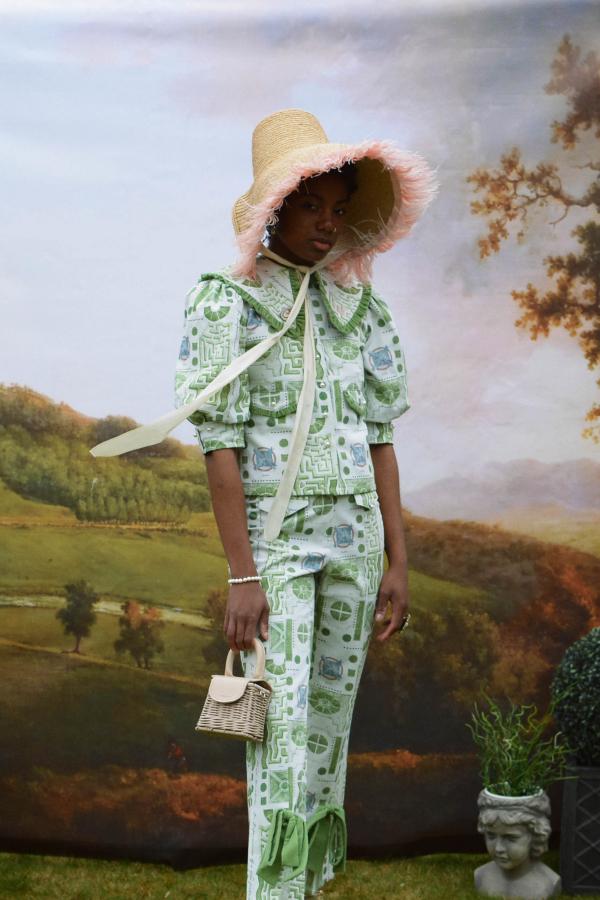 Olivia Annabelle Bennet Jacket in Garden Print 4