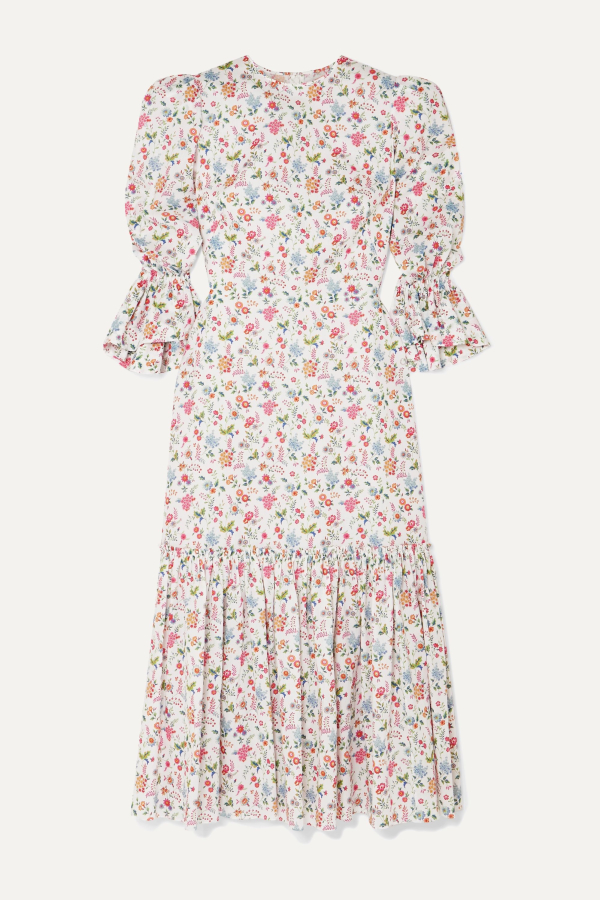 The Vampire's Wife Floral Songbird Dress  3