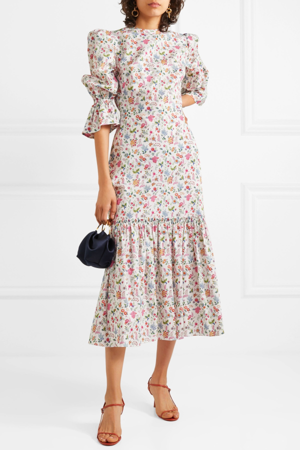 The Vampire's Wife Floral Songbird Dress  4