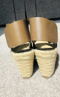 Celine Leather Espadrille Wedges 2 Preview Images