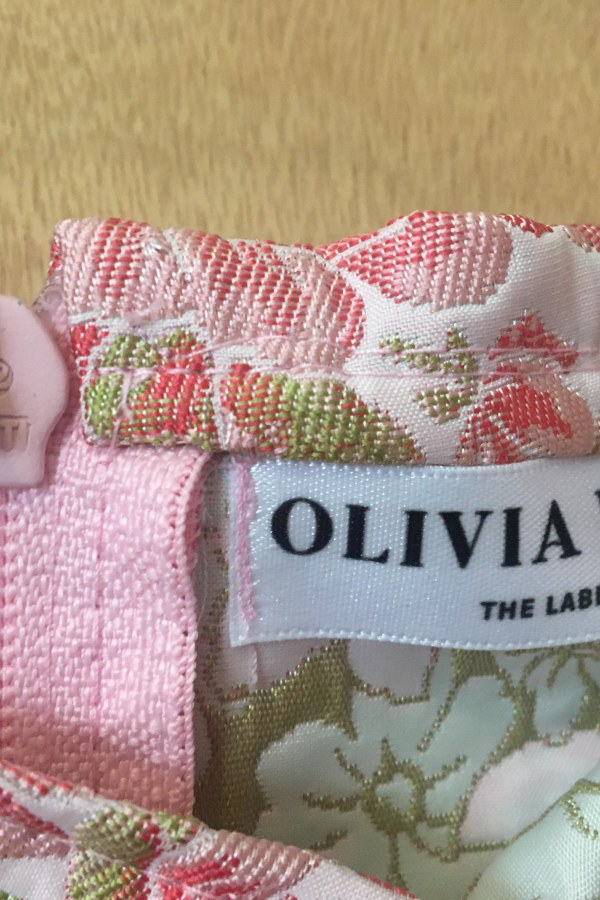 Image 3 of Olivia Rose The Label the ophelia top pink and green