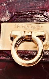 Salvatore Ferragamo Scarlet Python Evening Bag 5 Preview Images