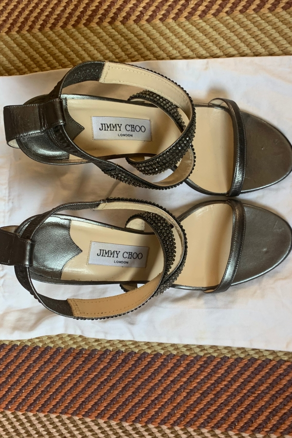 Jimmy Choo Sparkly sandal  2 Preview Images