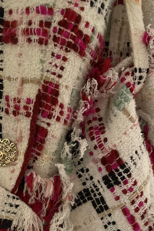 Chanel Tweed Coat  4