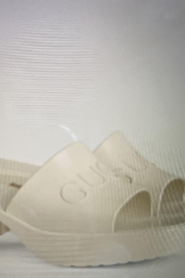Gucci Women's rubber slide sandal 5