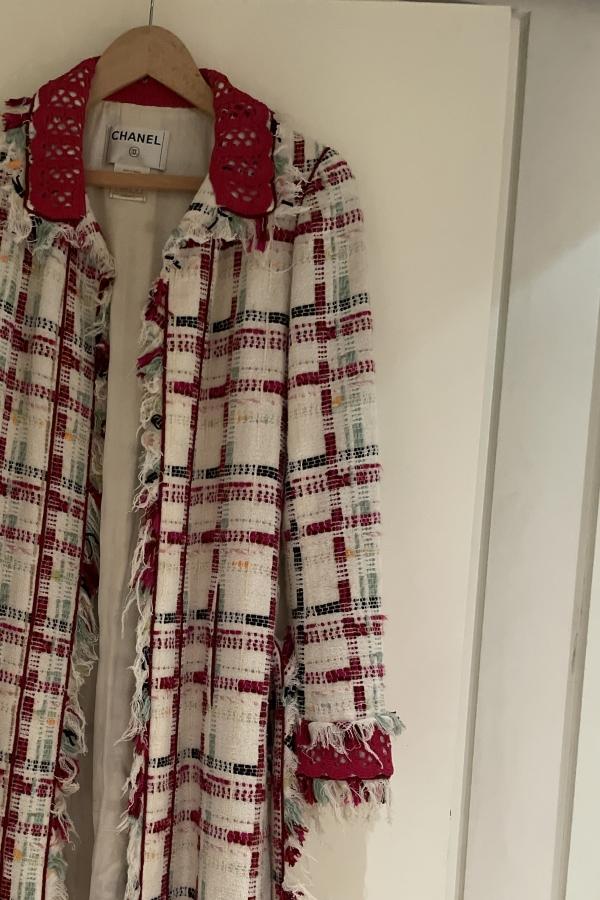 Chanel Tweed Coat  5
