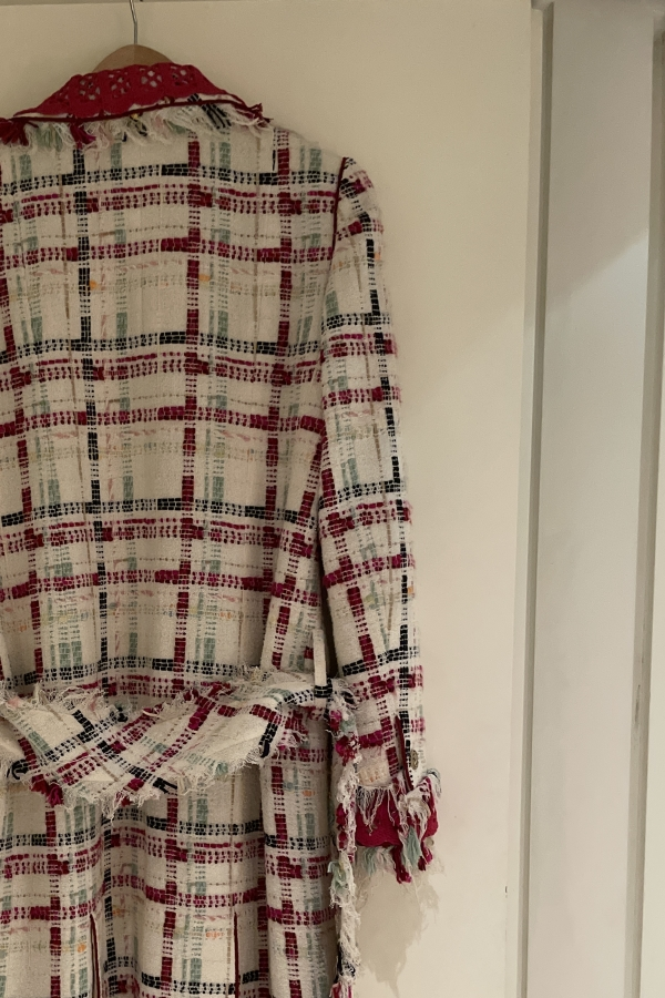 Chanel Tweed Coat  3
