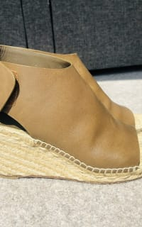 Celine Leather Espadrille Wedges 5 Preview Images