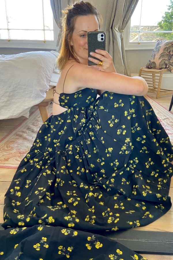 Image 3 of Cecilie Bahnsen sofie floral black yellow