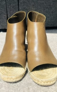 Celine Leather Espadrille Wedges 3 Preview Images