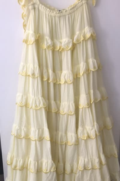 Innika Choo The scallop dress 3