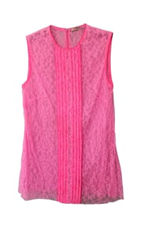 Christopher Kane Neon Lace Top 3 Preview Images