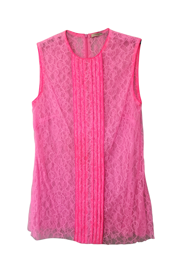 Christopher Kane Neon Lace Top 3