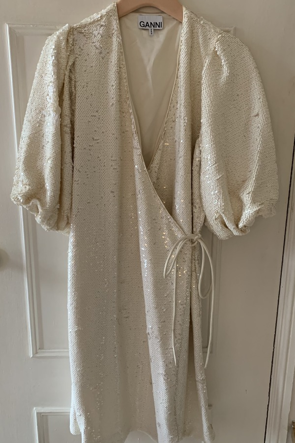 Image 3 of Ganni sonora sequin dress