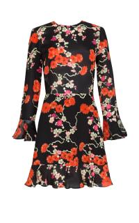 RIXO London Blossom Tree Mini Dress Preview Images