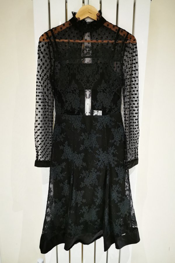 Erdem Flared A Line Lace Dress 2 Preview Images