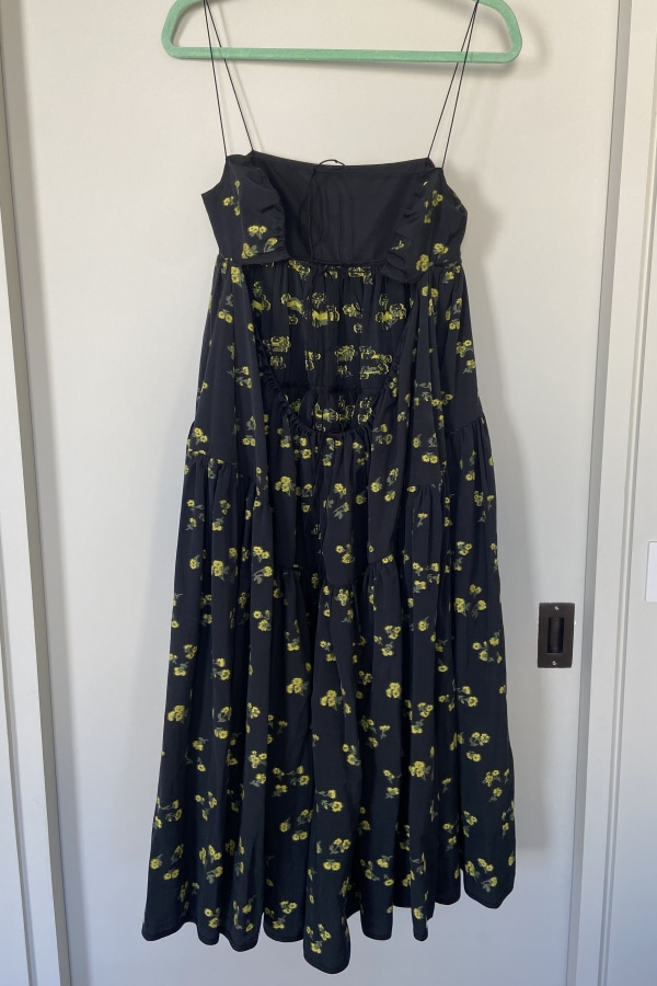 Image 6 of Cecilie Bahnsen sofie floral black yellow