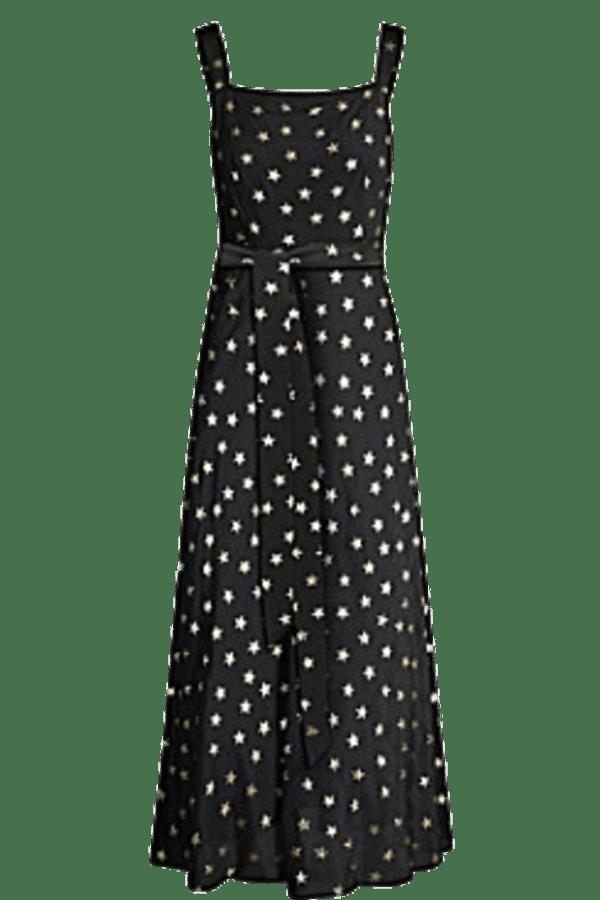 Image 1 of Rixo tara star-print dress