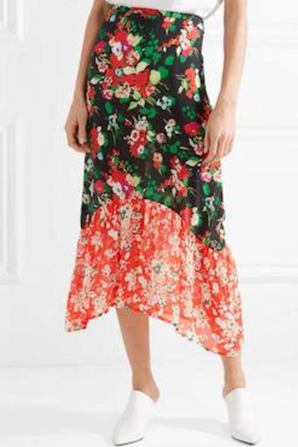 Image 2 of Rixo leandra skirt