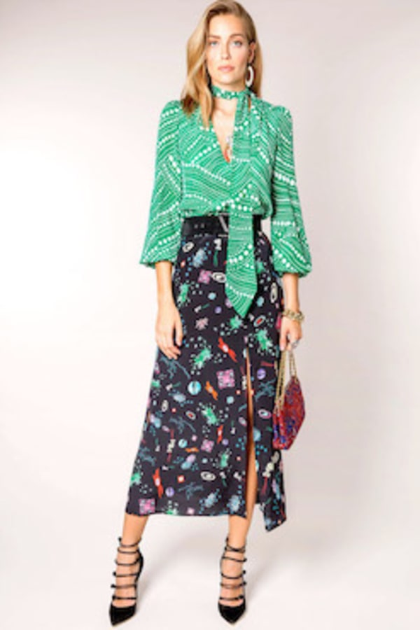 Image 2 of Rixo kelly skirt