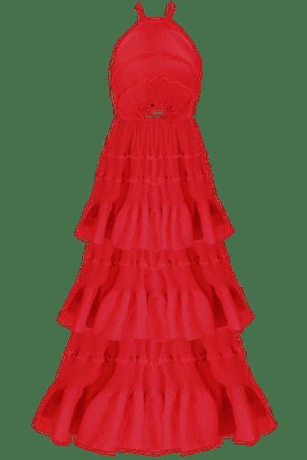 Image 1 of Georgia Hardinge ariel floor length dress