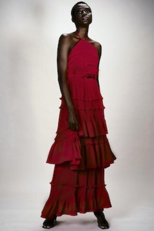 Image 2 of Georgia Hardinge ariel floor length dress