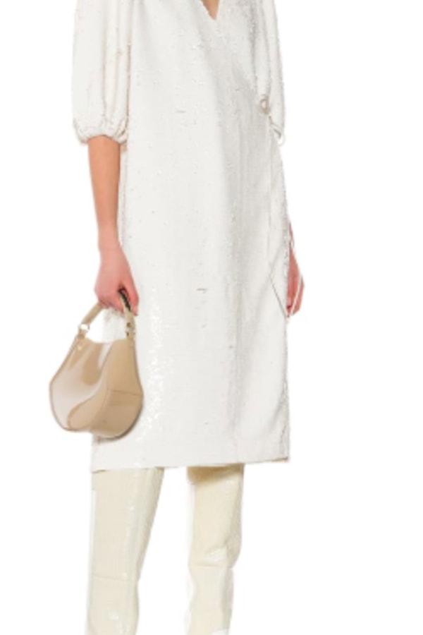 Image 2 of Ganni sonora sequin dress
