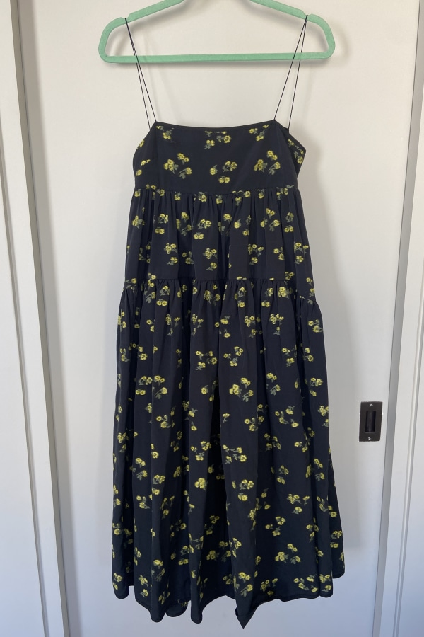 Image 5 of Cecilie Bahnsen sofie floral black yellow